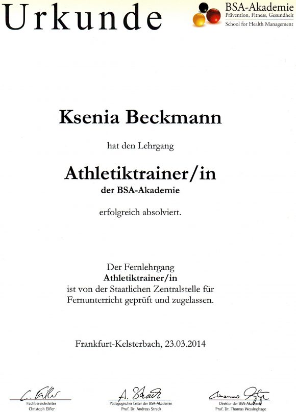 athletiktrainer