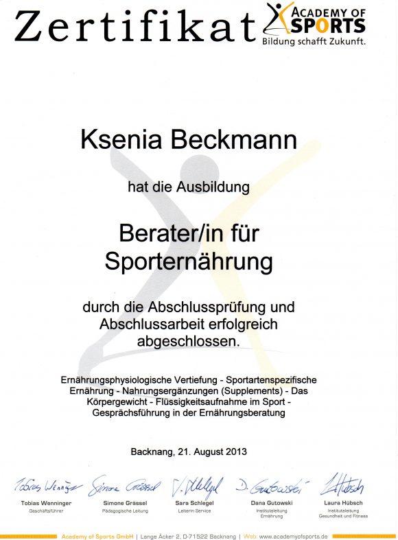 sporternaehrung